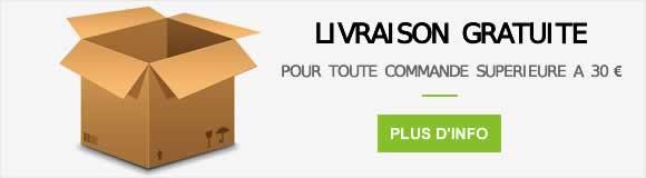 Livraison gratuite à partir de 30€ d'achats de produits de la Ferme d'Arsa